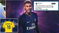 Neymar CHÍNH THỨC gia nhập PSG, mặc áo số 10