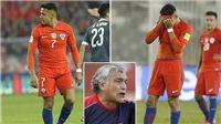 Chile phát hoảng với thân hình phì nộn của Alexis Sanchez