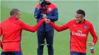 Bộ đôi đắt nhất thế giới Mbappe và Neymar thân thiết trong lần đầu tập chung ở PSG