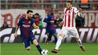 Video clip highlights trận Olympiacos 0-0 Barcelona