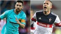 Cầu thủ vô danh TBN đang cạnh tranh Giày vàng với Messi là ai?