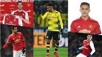CHUYỂN NHƯỢNG 23/1: Arsenal mua tiếp sao M.U. Mkhitaryan làm rò rỉ vụ Aubameyang