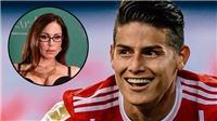Bỏ người đẹp Ronaldo mai mối, James Rodriguez tán tỉnh diễn viên phim cấp ba... 39 tuổi