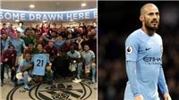 Man City đã làm những gì để giúp David Silva giành giật sự sống cho con trai?