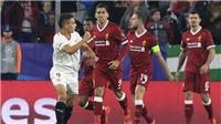 Sau Istanbul là 'Sevistanbul', Liverpool dẫn 3-0 vẫn bị gỡ hòa, lỡ cơ hội giành vé sớm