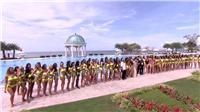 Phần thi bikini nóng bỏng của 77 Hoa hậu Hoà bình Thế giới 2017