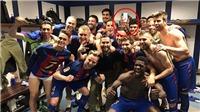 Neymar như phát điên khi Barcelona hạ Real Madrid ở 'Kinh điển'