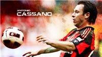 Antonio Cassano gia nhập Verona: Cuộc chiến cuối cùng của hiệp sĩ 'Fantantonio'