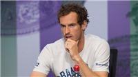 TENNIS ngày 14/7: Bác sỹ 'khóc thét' vì chấn thương nghiêm trọng của Murray. Lý Hoàng Nam vào chung kết F12 Futures