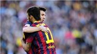 Video clip Messi gửi chia tay Neymar gây xúc động