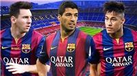 Neymar ra đi và dấu chấm hết của bộ ba MSN ở Barca