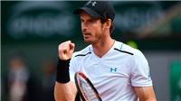 TENNIS ngày 25/8: Federer mạnh nhất trên sân cứng. Murray được đàn anh 'chỉ lối' trước thềm US Open
