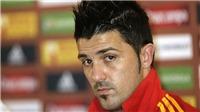 Loại Costa, 'khan hiếm' tiền đạo, Tây Ban Nha bất ngờ gọi David Villa