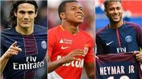 Với Mbappe và Neymar, PSG có hàng công khủng khiếp, mạnh nhất châu Âu
