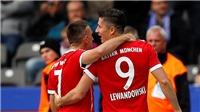 Video clip highlights bàn thắng trận Hertha Berlin 2-2 Bayern Munich