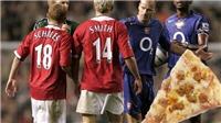 Sau 13 năm, cuối cùng Fabregas đã xin lỗi vì ném pizza vào mặt Sir Alex