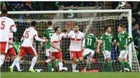 Video clip highlights bàn thắng trận Bắc Ireland 0-1 Thụy Sỹ