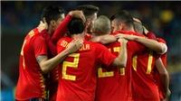 Video clip highlights bàn thắng trận Tây Ban Nha 5-0 Costa Rica