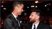 Ronaldo gọi điện cho Messi để thông báo sẽ... giành Bóng vàng