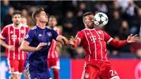 Video clip highlights bàn thắng trận Anderlecht 1-2 Bayern Munich