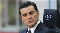 NÓNG: AC Milan sa thải HLV Montella, Gattuso lên nắm quyền
