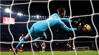 De Gea chỉ là thủ môn xuất sắc thứ 7 thế giới