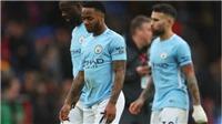 C.Palace 0-0 Man City: Hết toàn thắng, De Bruyne cùng Jesus chấn thương nặng