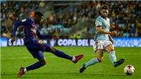 Video bàn thắng trận Celta 1-1 Barca: Không Messi, không Suarez, không chiến thắng