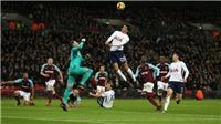 Video bàn thắng trận Tottenham 1-1 West Ham: Siêu phẩm của 'người Hàn Quốc'