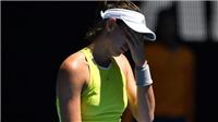 TENNIS ngày 18/1: ĐKVĐ Wimbledon thua sốc tại Australian Open. Azarenka giành quyền nuôi con