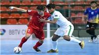 U20 futsal Việt Nam đánh rơi chiến thắng trước Indonesia