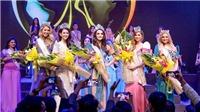 Liên Phương rạng ngời đội vương miện Miss Eco Tourism 2017