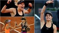 Đánh bại Sharapova, Bouchard tranh thủ 'đá xoáy' đối phương