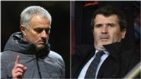 Roy Keane: 'Mourinho nên cảm thấy xấu hổ vì thành tích mùa này'