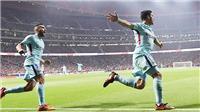 Video clip highlights bàn thắng trận Atletico 1-1 Barcelona