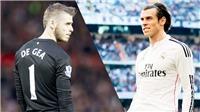 CHUYỂN NHƯỢNG 15/10: Real gạ đổi Bale lấy De Gea, Chelsea nhắm Belotti, derby bắc London vì Mahrez