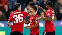 Video clip highlights bàn thắng trận Swansea 0-2 M.U