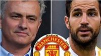 Tin HOT M.U: Mourinho nhắm Fabregas. Shaw có thể tái hợp Pochetino. Carrick ốm bí hiểm