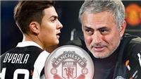 CHUYỂN NHƯỢNG M.U 26/12: Dybala là bom tấn của Mourinho, Quỷ đỏ nhắm 'Ronaldo mới'