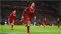 Video clip highlights bàn thắng trận Liverpool 2-1 Everton: Van Dijk ra mắt cực ấn tượng