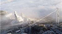 Ngắm băng tuyết tuyệt đẹp trên đỉnh Fansipan