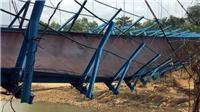 Cầu treo Quảng Nam đứt dây cáp, một học sinh rơi xuống sông mất tích