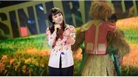 VIDEO: 'Nữ hoàng Wushu' Thuý Hiền 'tái xuất', hát dân ca ngọt lịm