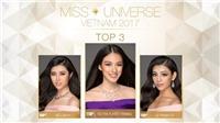 Hoa hậu Hoàn vũ VN 2017: Được đánh giá cao, Hoàng Thùy, Mâu Thủy vẫn 'trượt' top 3