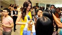 Á hậu Huyền My rạng rỡ bên dàn người đẹp Hoa hậu Hòa bình Thế giới 2017