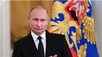 Ông Putin chúc gì ông Trump nhân dịp Giáng sinh và năm mới 2018?