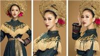 Trang phục Hà Thu tham dự Hoa hậu Trái đất lấy cảm hứng từ các nữ tướng