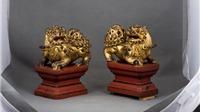 Chiêm ngưỡng 'nét vàng son' trong sưu tập đồ gỗ sơn thếp vàng cổ