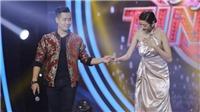 Nguyên Khang tình tứ với Á hậu Thúy Vân trên sân khấu 'Người hát tình ca 2017'