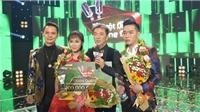 Cặp đôi Thiên Vũ – Tùng Chinh đoạt Quán quân 'Tuyệt đỉnh song ca 2017'
